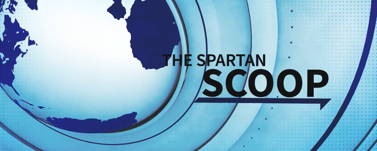 Spartan Scoop splash animation