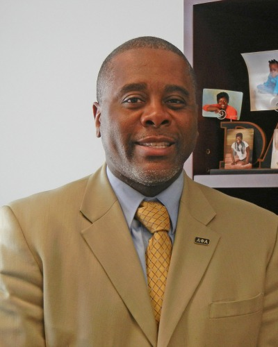 Sedgwick Harris, VP of Student Affairs and Enrollment