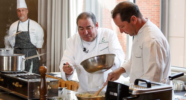 Chef Emeril Demo June 2, 2017