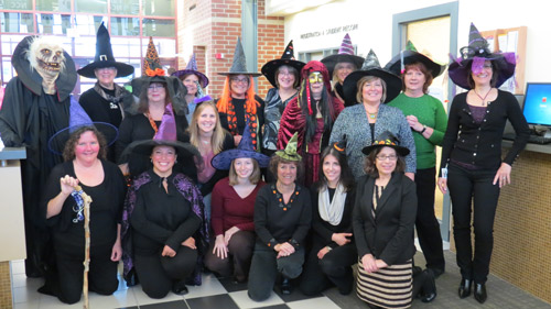 Happy Halloween from the staff of the Enrollment Center!