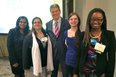 Academic All-Stars with Dr. Mark Erickson in Harrisburg