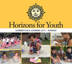 Horizons for Youth Monroe Tabloid Cover