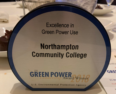 Excellence in Green Power Use Award