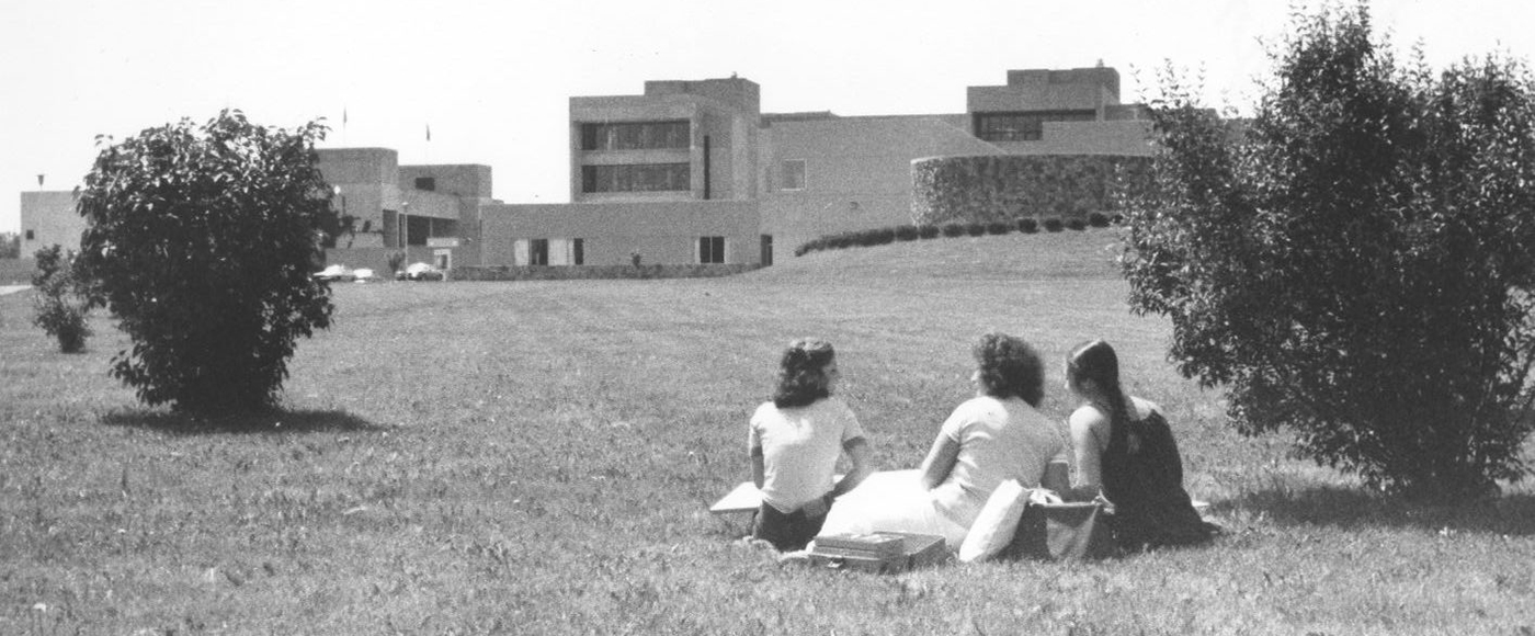 Students on Campus circa 1970