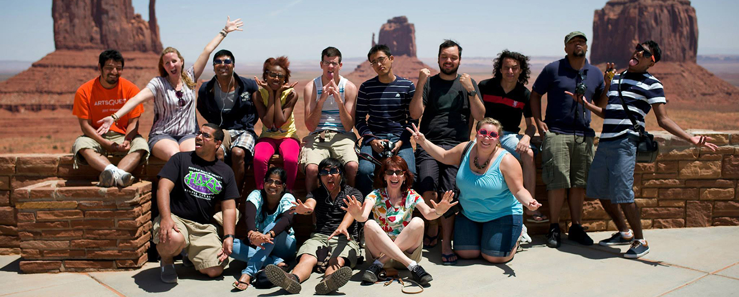 Student trip to Arizona
