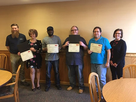 Precision Machining Students Graduate