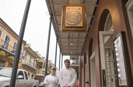 Rebecca Suta and Matthew Campesi at NOLA
