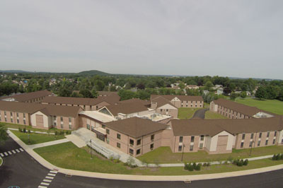 NCC's New Residence Hall Commons