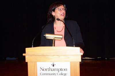 Sonia Nazario speaks at NCC