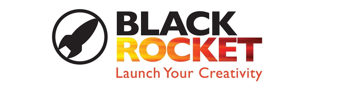 Black Rocket Logo