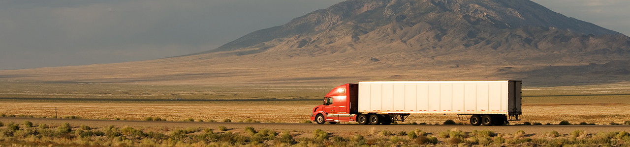 truck driver on the open road